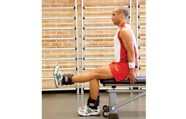 Treino para blindar os joelhos - Extensão