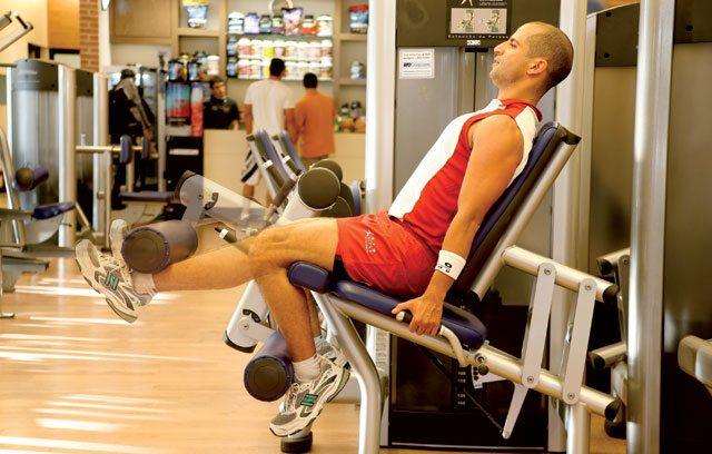 Treino para blindar os joelhos - cadeira extensora