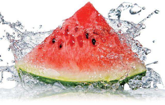 Frutas que têm água