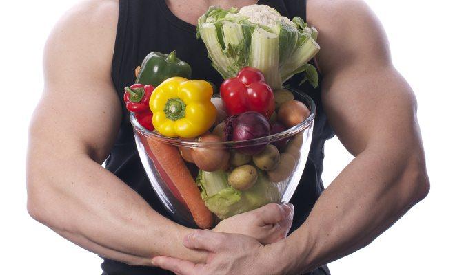 Criar massa muscular na dieta vegetariana