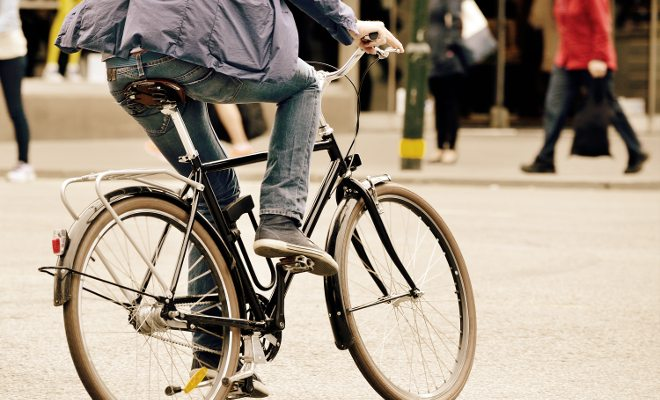Como trocar o carro pela bicicleta
