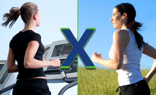 A melhor escolha é correr na esteira ou ir para a rua?