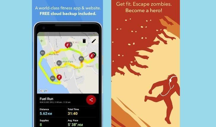 Captura de tela do app Zombies, run!