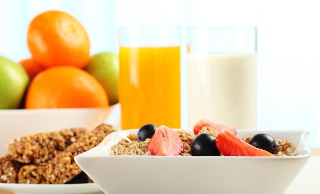 café da manhã mais saudável