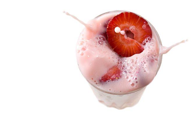 receita shake proteico