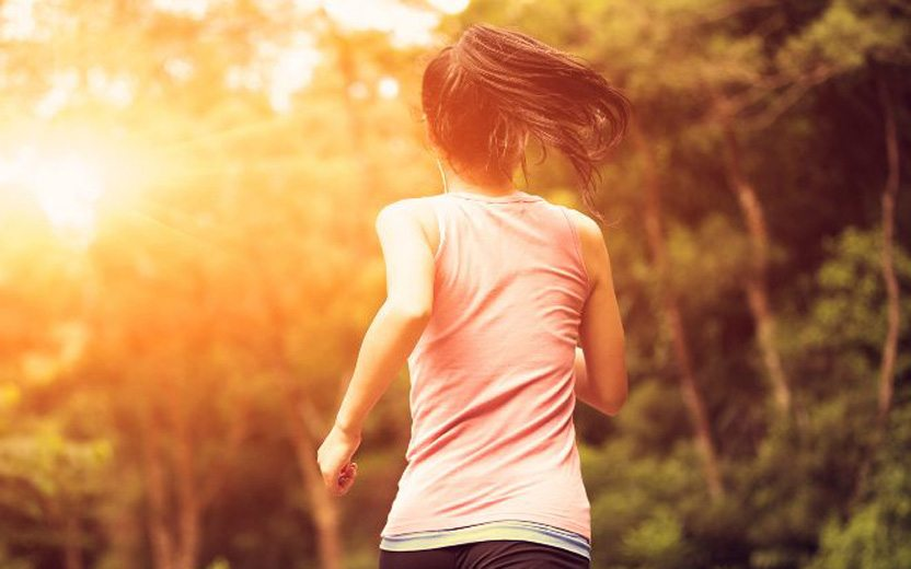 correr menstruada