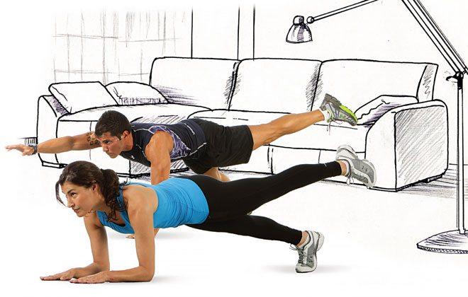 Exercício de prancha