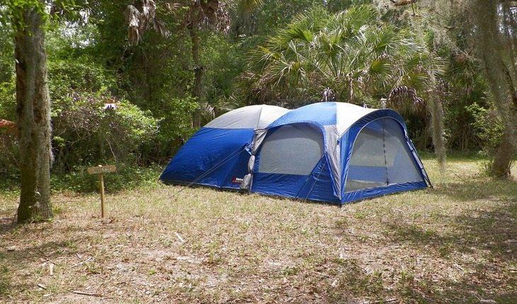 barracas de acampamento acampar pela primeira vez