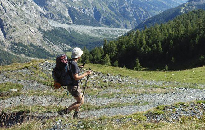 Pessoa praticando o Trail Run