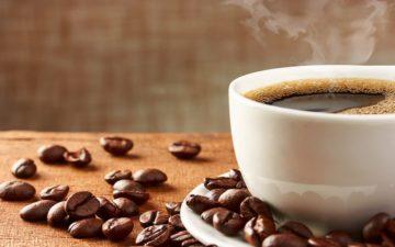 café no pré-treino