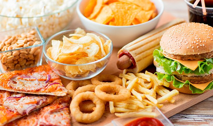 fast food testosterona
