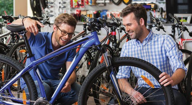 Escolhendo qual bicicleta comprar