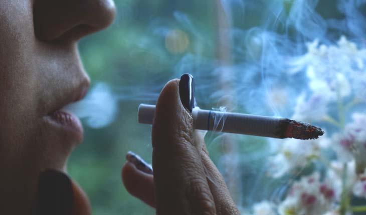 largar o cigarro
