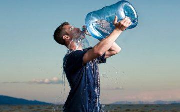 A hidratação durante a prática de exercícios no inverno