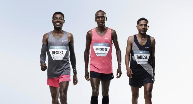 Nike maratonistas sub 2