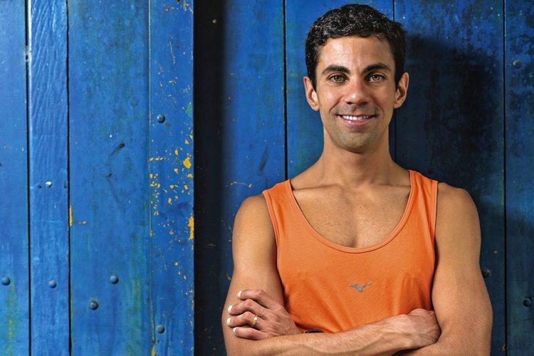 Rodrigo Lobo, triatleta ironman