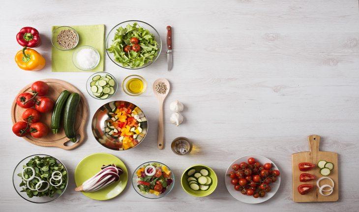 vários alimentos dicas para-se preparar para uma prova