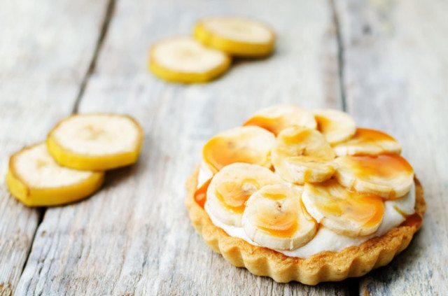 receita fitness torta de banana
