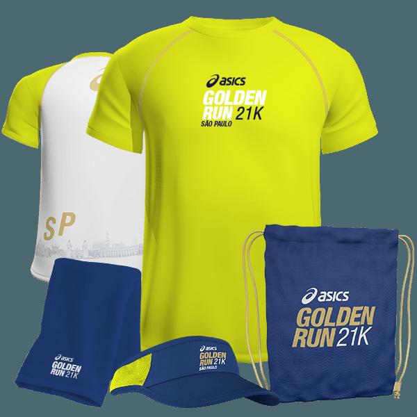 Kit Golden corrida asics