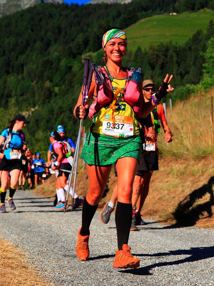 Andrea Vidal, ultima atleta da serie Mulheres na Ultra