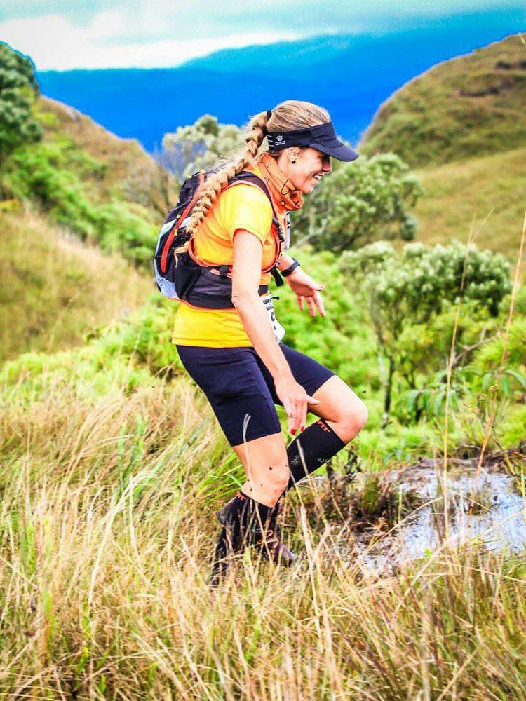 Christiane Pauloni Brito, ultramaratonista da serie Mulheres na Ultra