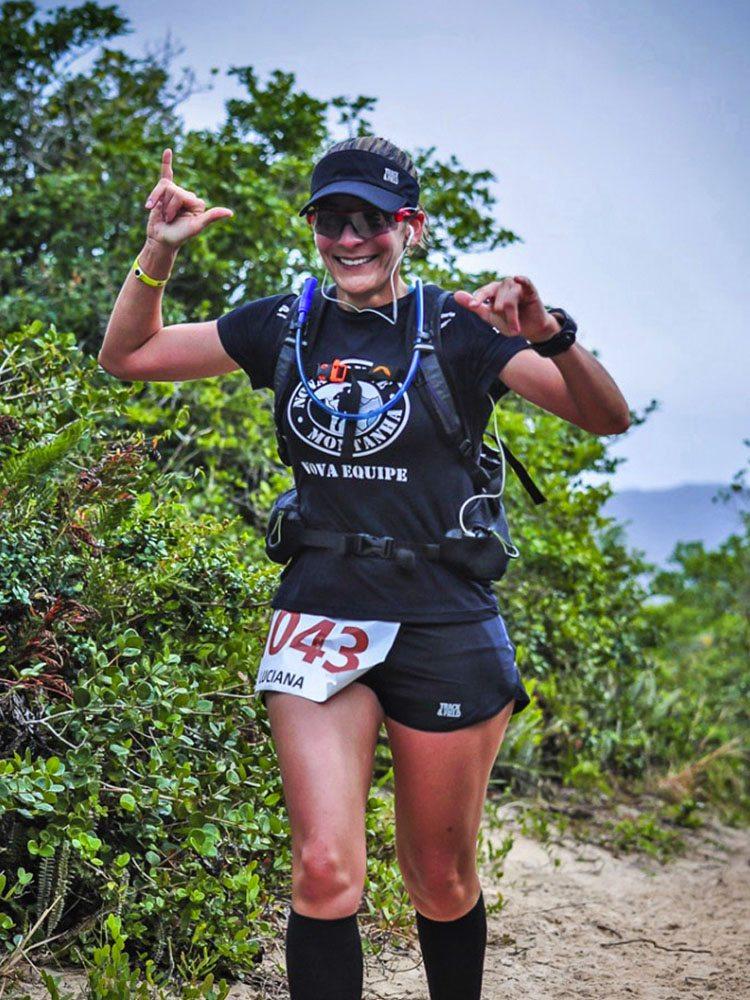 Luciana Zauhy Garms, ultramaratonista da serie Mulheres na Ultra