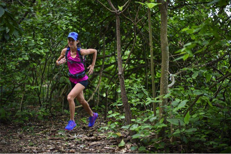 Rosália Camargo, em ultramaratona