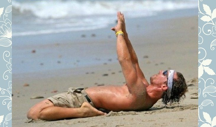 Celebridades que praticam yoga: MATTHEW MCCONAUGHEY
