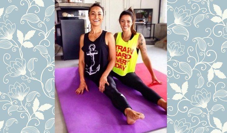 Celebridades que praticam yoga: SABRINA SATO.
