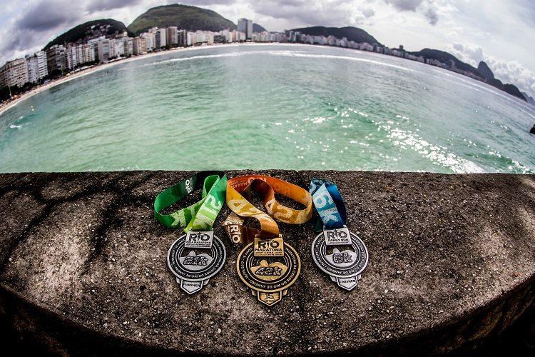 Medalhas da Maratona do Rio 2017