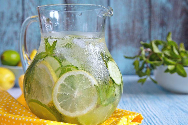 receitas de agua saborizada