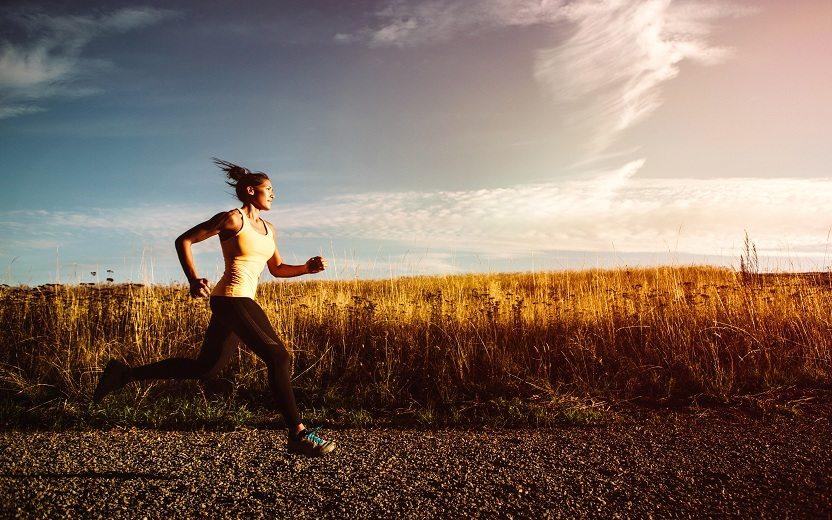 Esportista inicia sua trajetória de correr cinco quilômetros