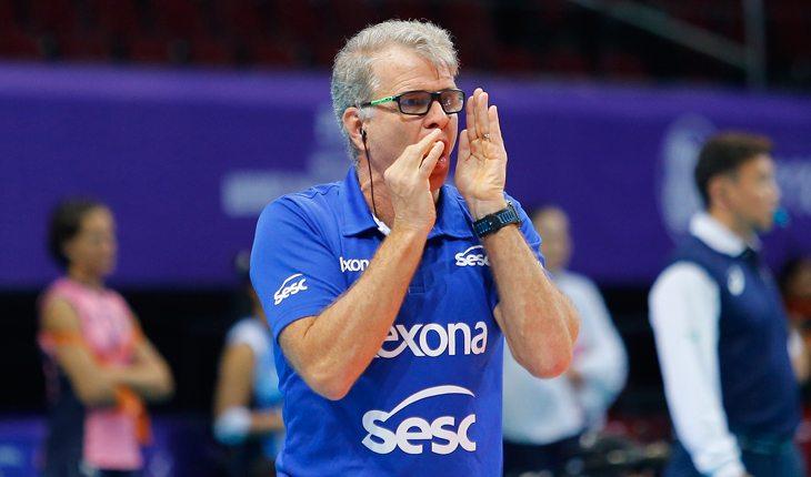 Bernardinho, treinador do Rexona Sesc Rio