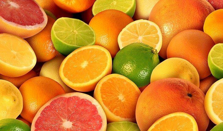 Frutas cítricas: acelerar a recuperação muscular