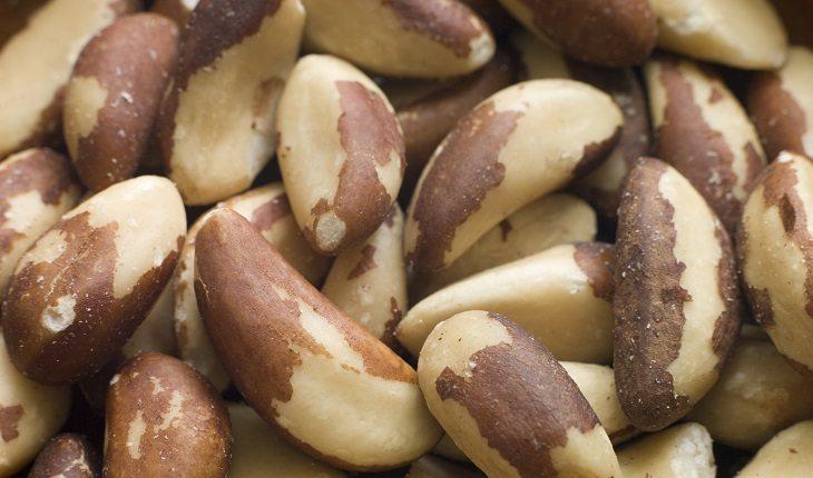 Alimentos que previnem a queda de cabelo: castanha do pará