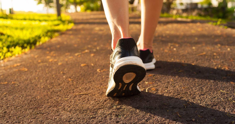 7 mudanças no corpo durante uma caminhada