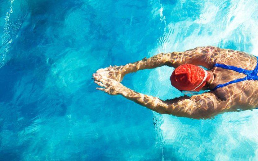 melhorar na natação