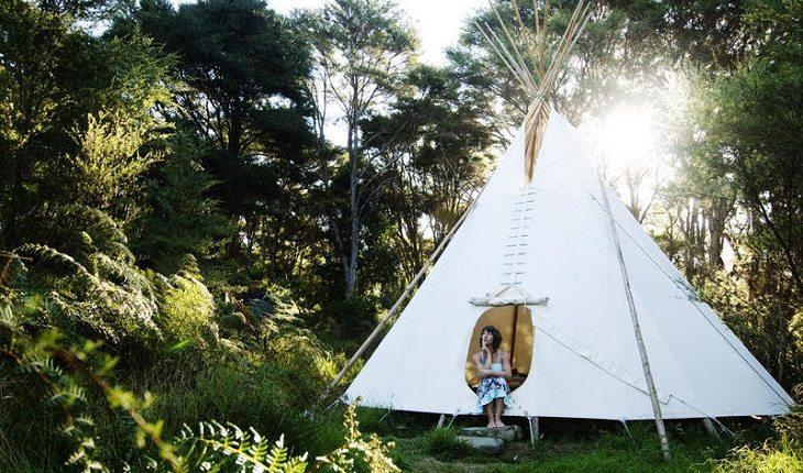 Entre os hostels para praticar yoga Solscape Eco Retreat, Raglan, Nova Zelândia.