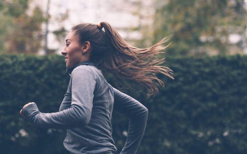 Mulher correndo dicas para longão