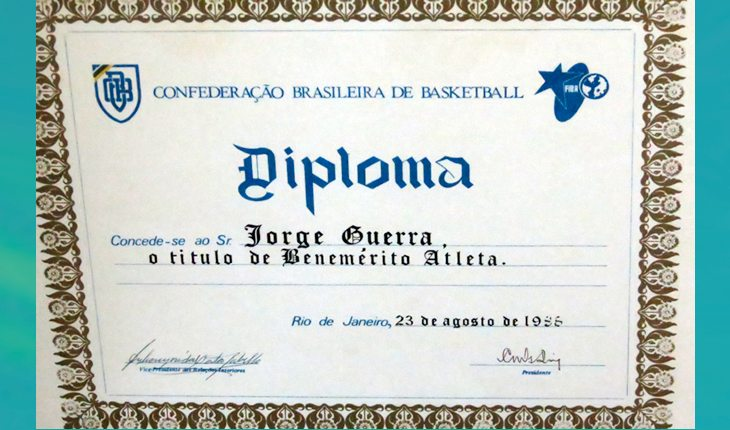 1987- Guerrinha - diploma CBB