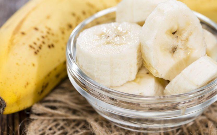 banana - alimentos para comer a noite