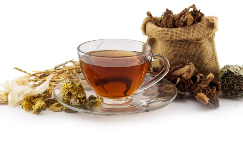 chá de mulungu - comer de noite