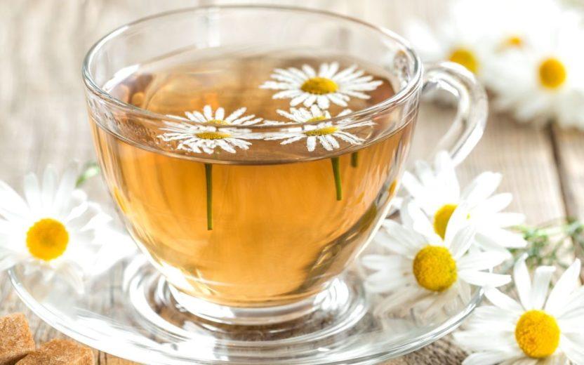chá de camomila - comer de noite