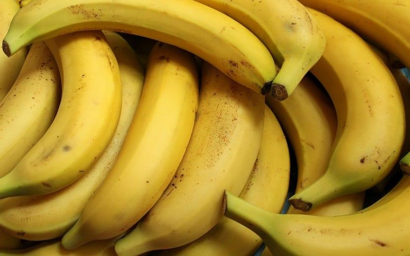 Glicogênio muscular bananas