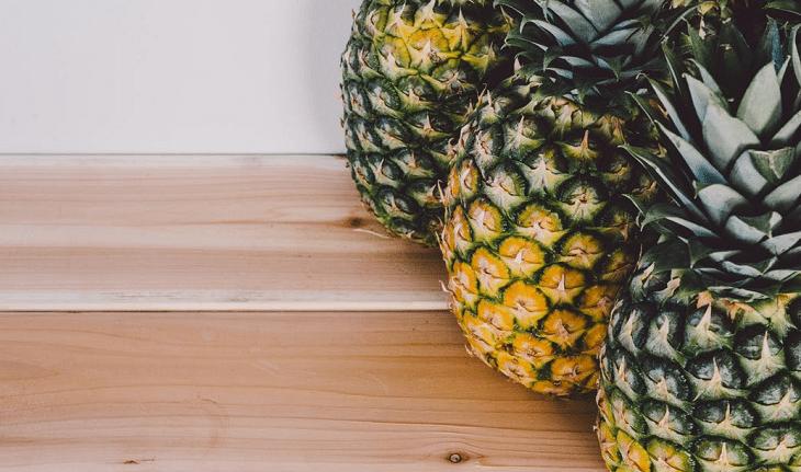 Frutas com baixo índice glicêmico: abacaxi