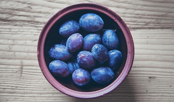 Frutas com baixo índice glicêmico: ameixa