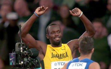 Despedida de Bolt: vitória nas eliminatórias dos 100m rasos