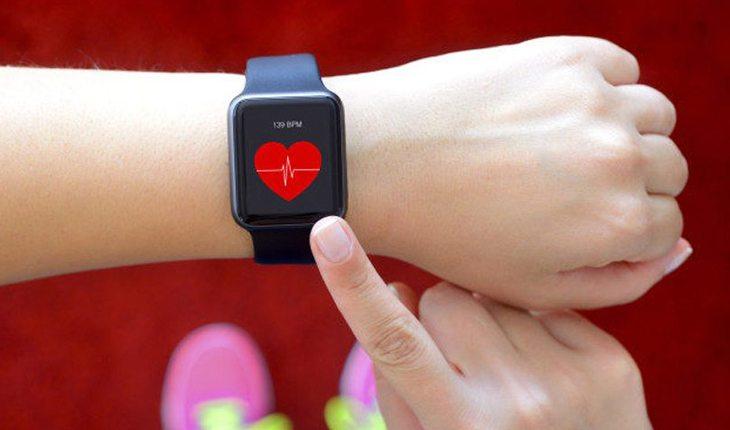 equipamento medidor de frequência cardiaca ultramaratona