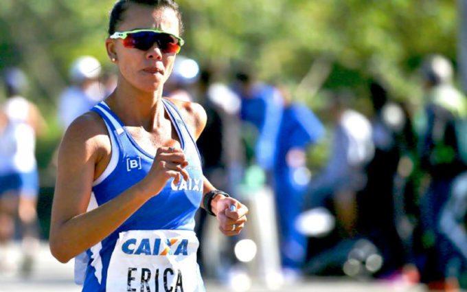 Erica de Sena, marcha atlética