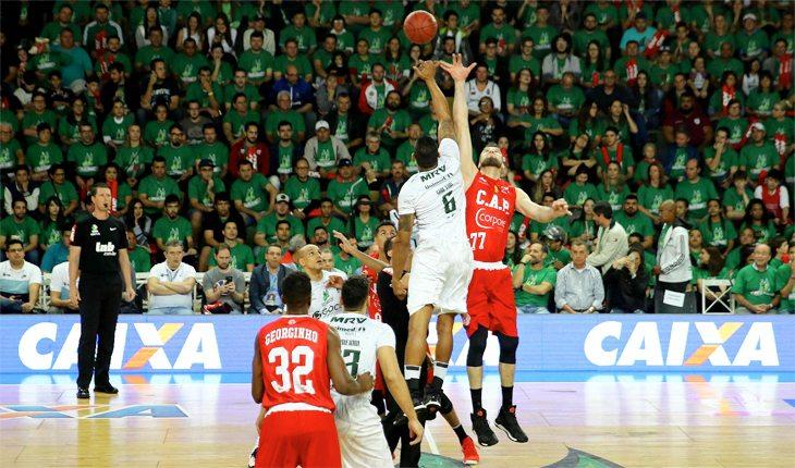 fundamentos do basquete: bola ao alto